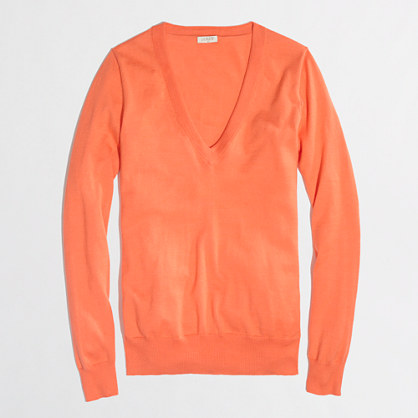 Factory V-neck sweater