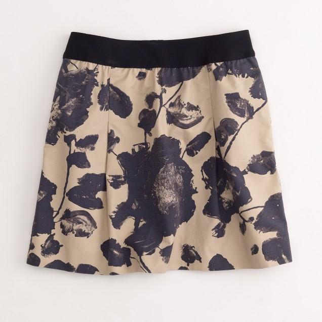 Factory printed cotton Nico skirt