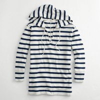 Factory stripe popover hoodie