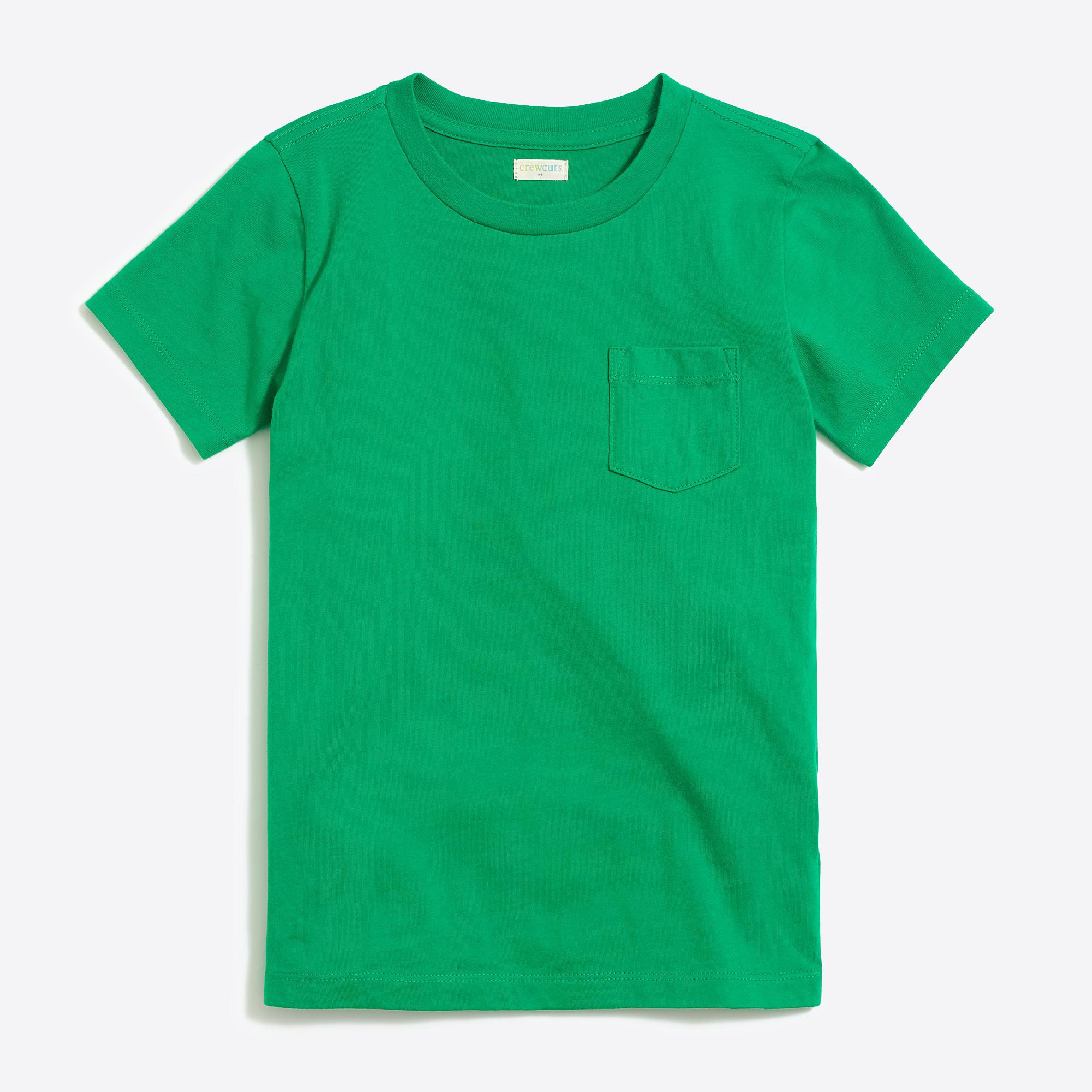 Boys 39 short sleeve jersey pocket t shirt boys 39 tees j for Boys pocket t shirt