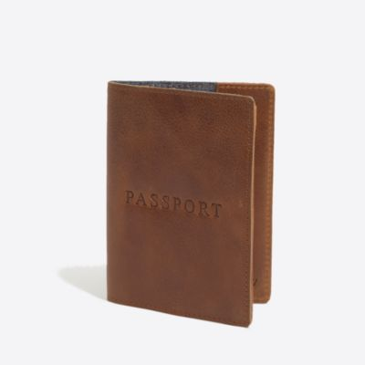 Leather passport case factorymen accessories c