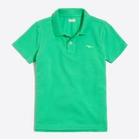 Boys' critter piqué polo shirt