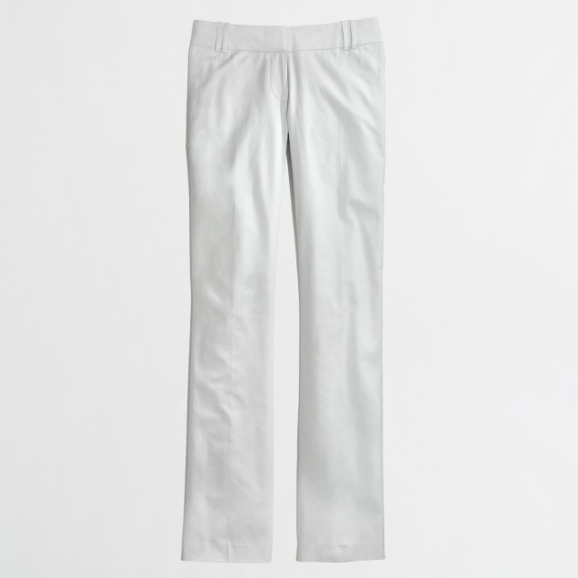 Factory suiting pant in cotton