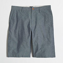 "11"" blue chambray Rivington short"