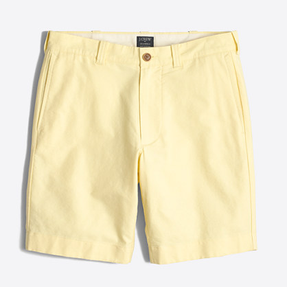 "9"" sunwashed oxford Gramercy short"