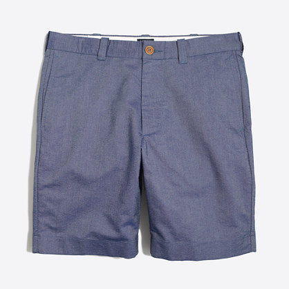 "9"" sunwashed oxford Gramercy short"