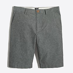 "11"" grey chambray Rivington short"