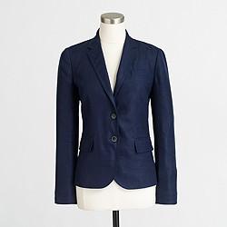 Factory Keating boy blazer in linen