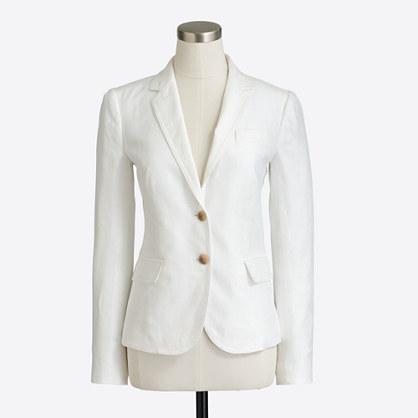 Schoolboy blazer in linen