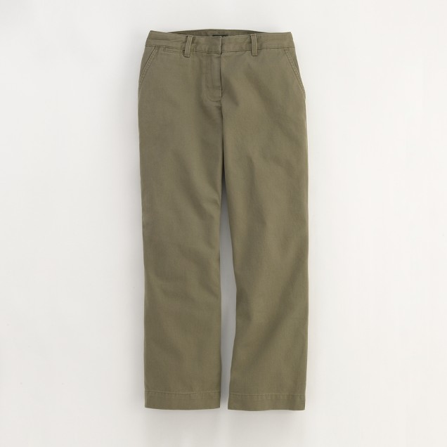 Factory cropped chino