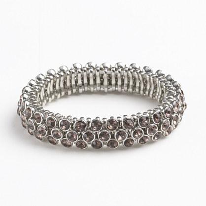 Factory crystal cobblestone bracelet