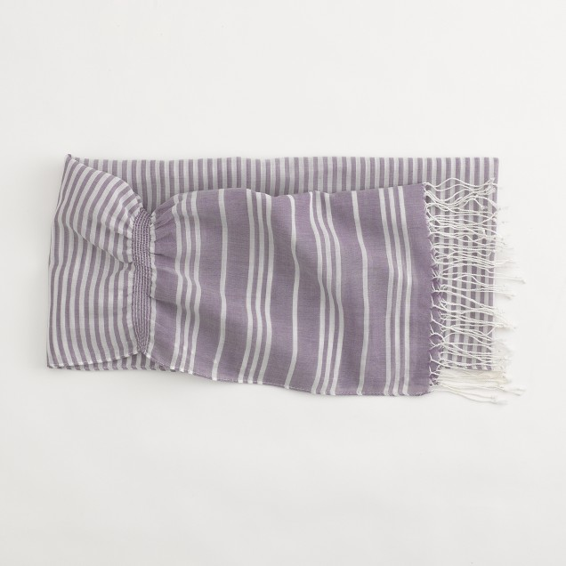 Factory stripe scarf
