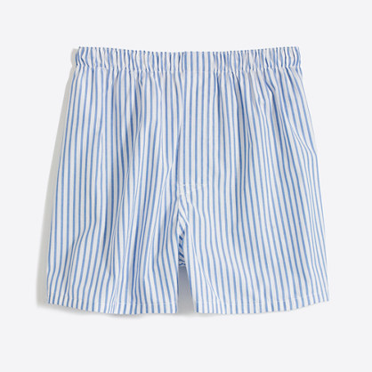 Nautical-striped boxers