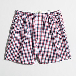 Factory large tattersall boxers