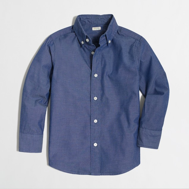 Kids' pinpoint oxford shirt