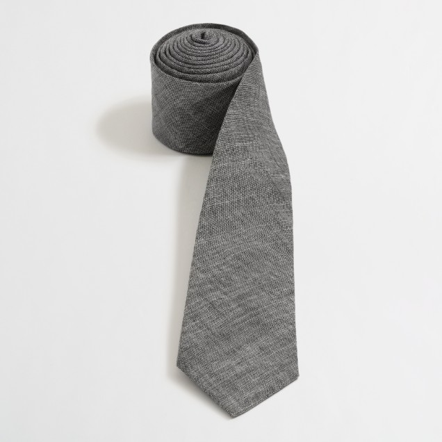 Factory chambray tie