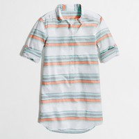 Factory lightweight stripe tunic
