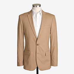 Factory Thompson suit jacket in chino
