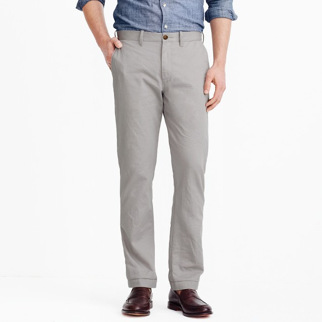 Sutton straight-fit broken-in chino