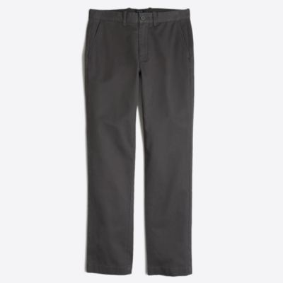 Sutton straight-fit broken-in chino factorymen tall c