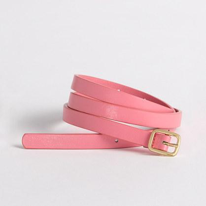 Factory skinny belt