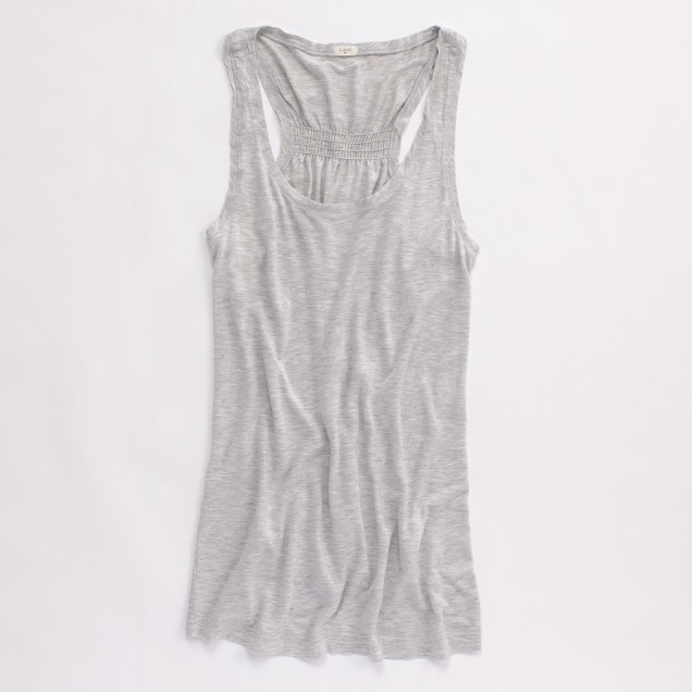 Factory cinched-back tank