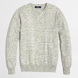 Factory heathered sweatshirt sweater