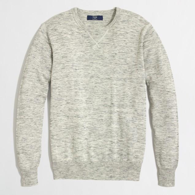 Tall heathered sweatshirt sweater