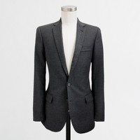 Factory Thompson suit jacket with double vent