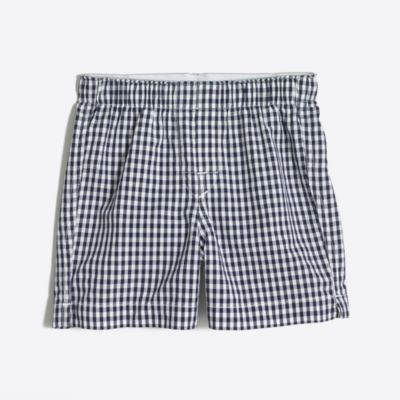 Boys' yarn-dyed boxers factoryboys boxers c