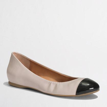 Factory Anya cap toe ballet flats