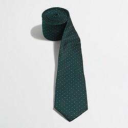 Silk pindot tie