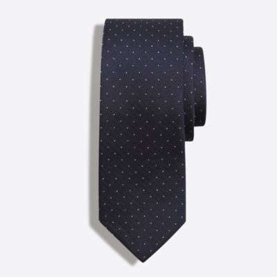 Silk pindot tie factorymen ties & pocket squares c