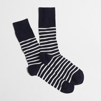 Bold-stripe socks