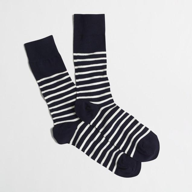 Bold-stripe socks
