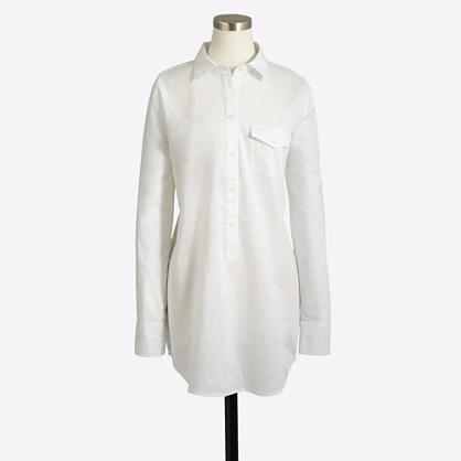 Chambray pocket tunic
