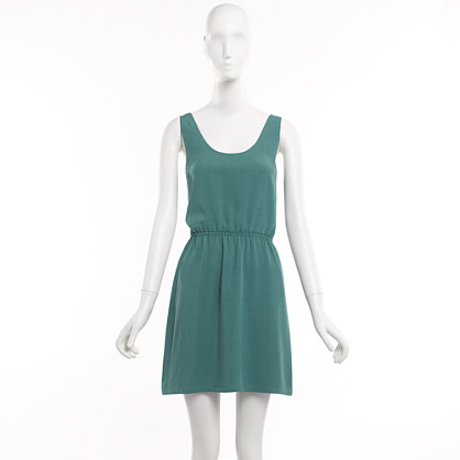 Factory solid tank dress
