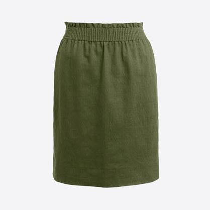Cotton Linen Skirt 69