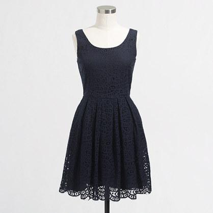 Factory swirling lace dress