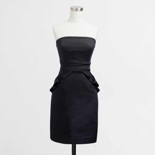 Factory strapless cocktail dress