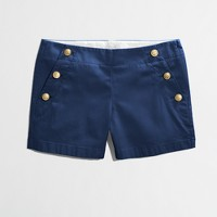 Factory nautical-button short