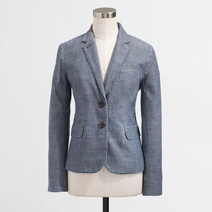 Factory Keating boy blazer in chambray