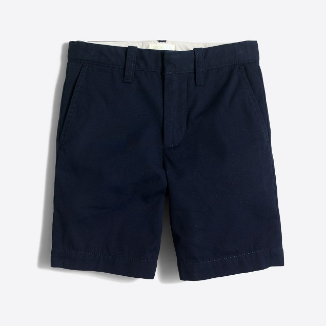 Boys' lightweight chino Gramercy short