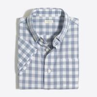 Boys' short-sleeve washed shirt