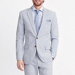 Thompson suit jacket in seersucker