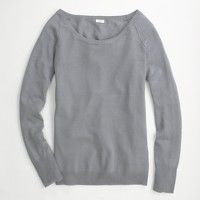 Factory linen-cotton sweatshirt