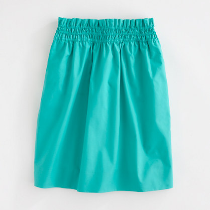 Factory bell skirt in cotton