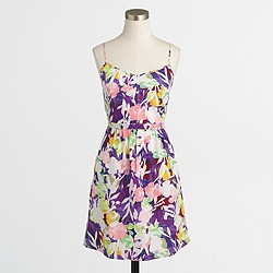 Factory printed cami dress
