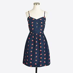 Printed seaside cami dress