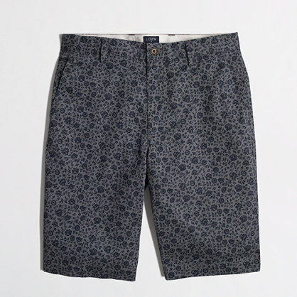"11"" printed lightweight Rivington short"